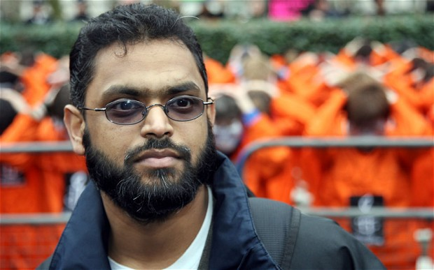 Moazzam Begg was held by the US government at Guantanamo for nearly three years