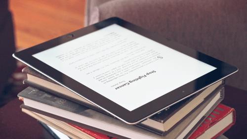 Cancer & Theology iPad Kindle photo