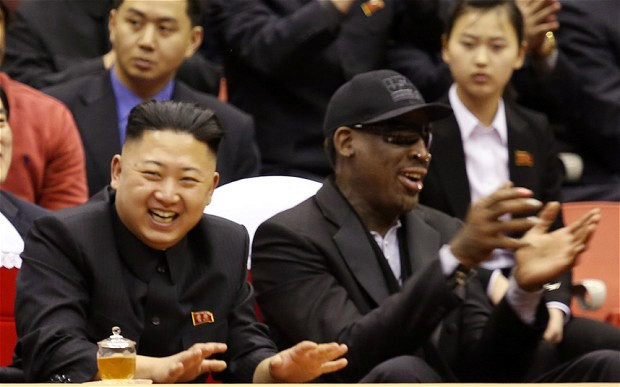 Dennis Rodman fed to dogs in North Korea
