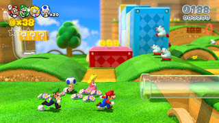 super mario 3d world screen 1 E3 2013 Super Mario 3D World (Wii U) Logo, Concept Art, Screenshots, & Trailer