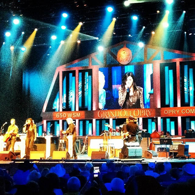 @littlebigtown closes out the cowboy night at the #opry for #cic14 #beefmeet