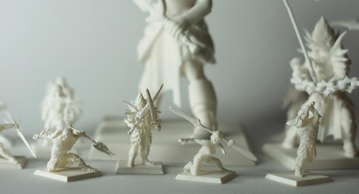 HeroForge 3D Printed Miniatures