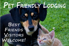Stay With us while you visit Best Friends