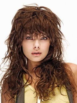 2015 Glam Messy Hairstyles