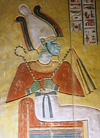 Osiris (from QV44 in the Valley of the Queens)