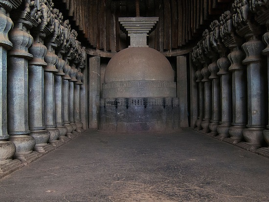 Chaitya hall at Karle near Lonavala, Maharashtra