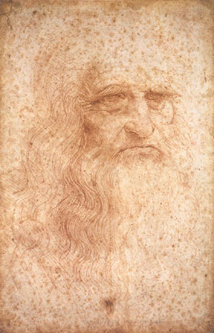 Leonardo, Self-Portrait