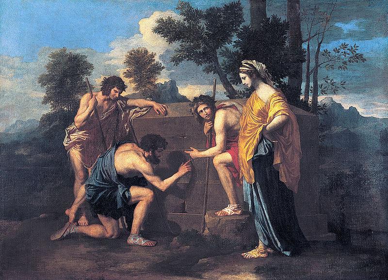 Poussin, Et in Arcadia Ego