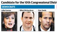 Graphic: Candidates for the 10th Congressional District