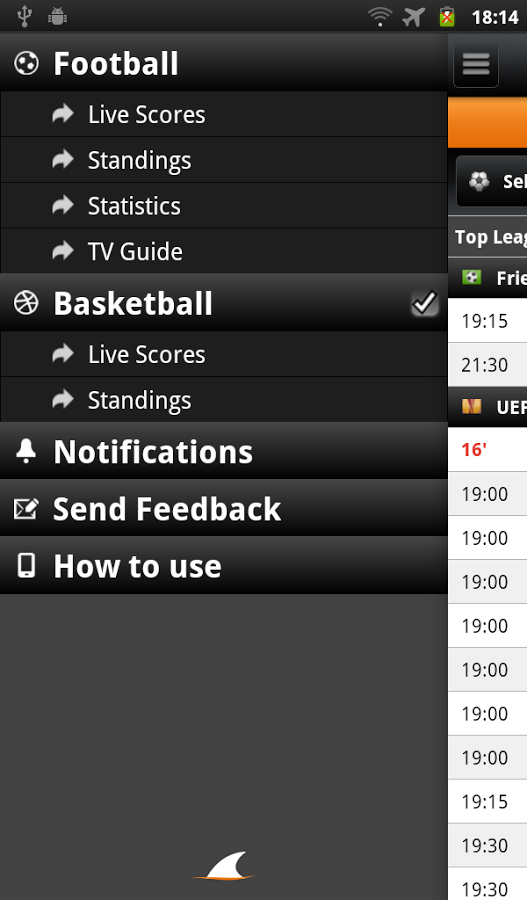 SharkScores Live - screenshot