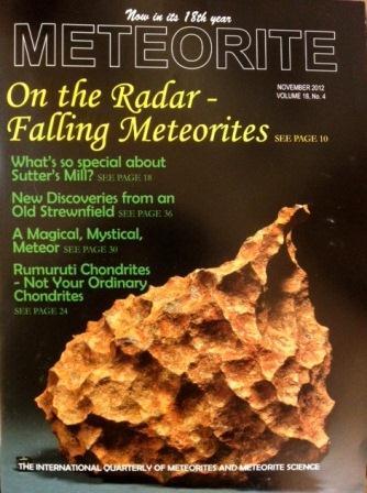 Meteorite Magazine
