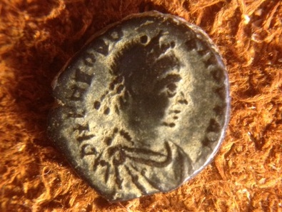 Cleaning Ancient Coins - Patination of Roman Bronze, Theodosius I
