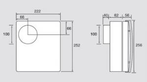 dimensiones extractor