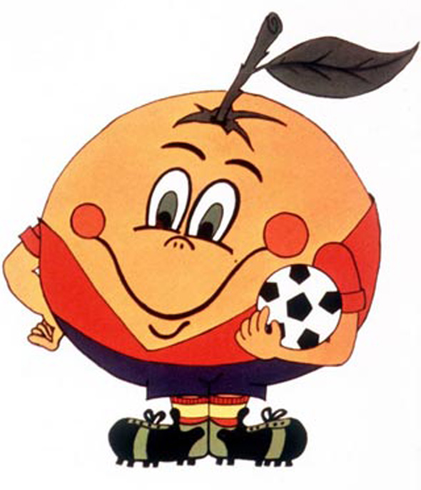 naranjito, spain 1982 world cup
