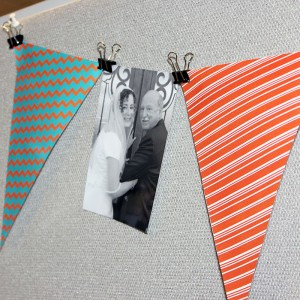 Use Binder Clips to Hang Photos
