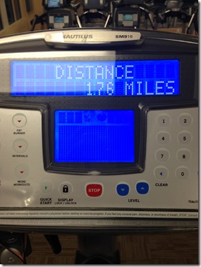 workout distance