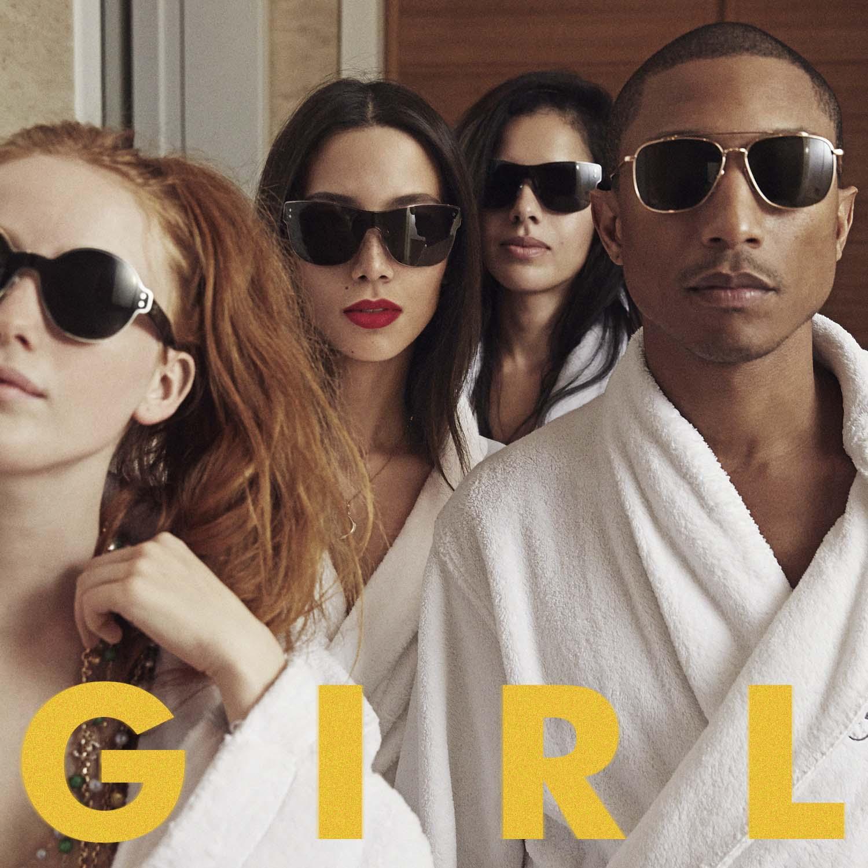 Pharrell G I R L WILD mag