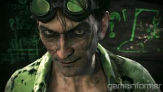 The Riddler in Batman: Arkham Knight looks uncannily like Charlie Sheen