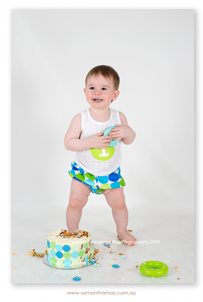 Perth Cake Smash Photographer