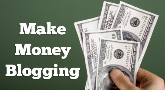 make money blogging without ads