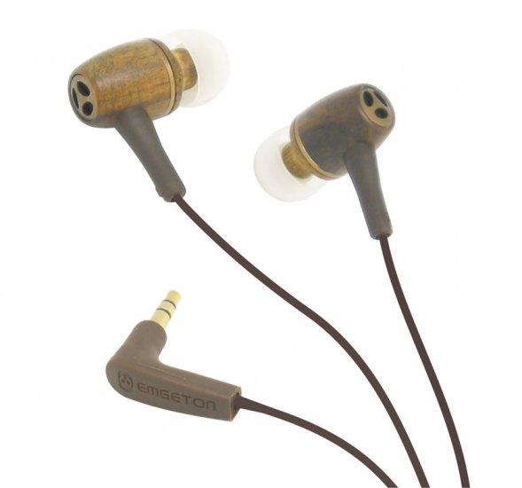 Emgeton E14C Professional HI-FI celodřevěná sluchátka
