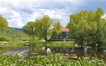 Steamboat Springs, Colorado - home with lake