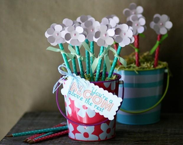 handmade ngay 8 3 5 Handmade những bông hoa ngày 8 3 ngày quốc tế phụ nữ