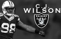 C.J. Wilson is Excited to Join the Raiders