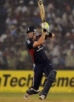 GOOD KNOCK, BUT… Kevin Pietersen notched up a century, but his efforts were not good enough to deny India victory.
