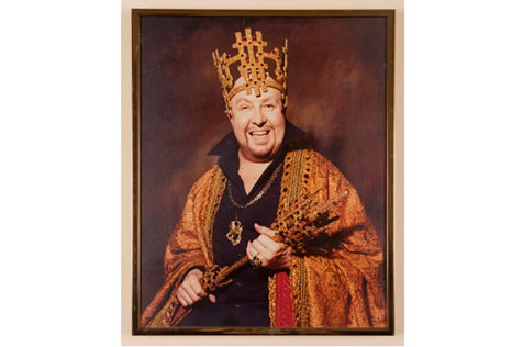 Frank Thring, Moomba King, 1982