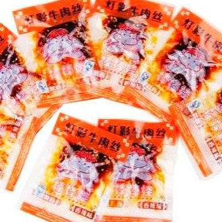 棒棒娃灯影牛肉丝香辣味散装称重(100克起售)