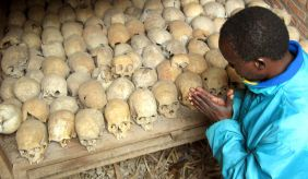 A Rwandan survivor of the 1994 Genocide