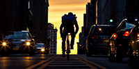 How Uber Plans to Beat Amazon With Bike Messengers