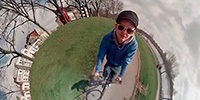 Crazy Video Trick Makes You King of Your Own Tiny Planet
