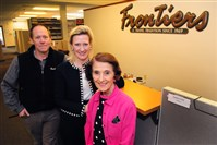 Mike, Mollie and Susie Fitzgerald of Frontiers Travel have developed a niche clientele for their Gibsonia travel agency.