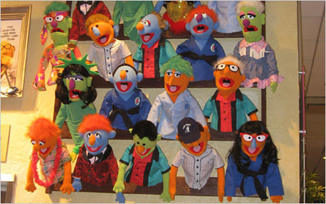 The Muppet Whatnot Workshop at F. A. O. Schwarz