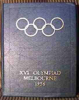 official report olympic games 1956 stockholm