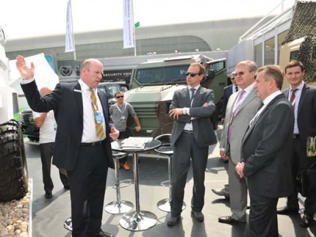 Украинская делегация ознакомилась с новинкой в Абу-Даби