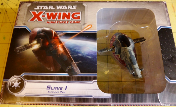 X-Wing Miniatures Game Firespray Slave-1 Unboxing