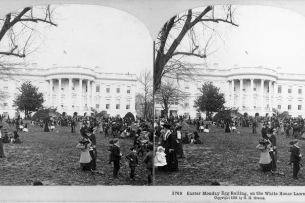 Easter Egg Roll 1901
