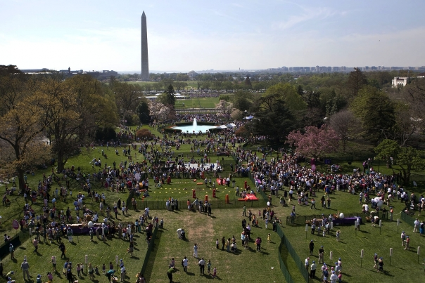Egg Roll on the South Lawn