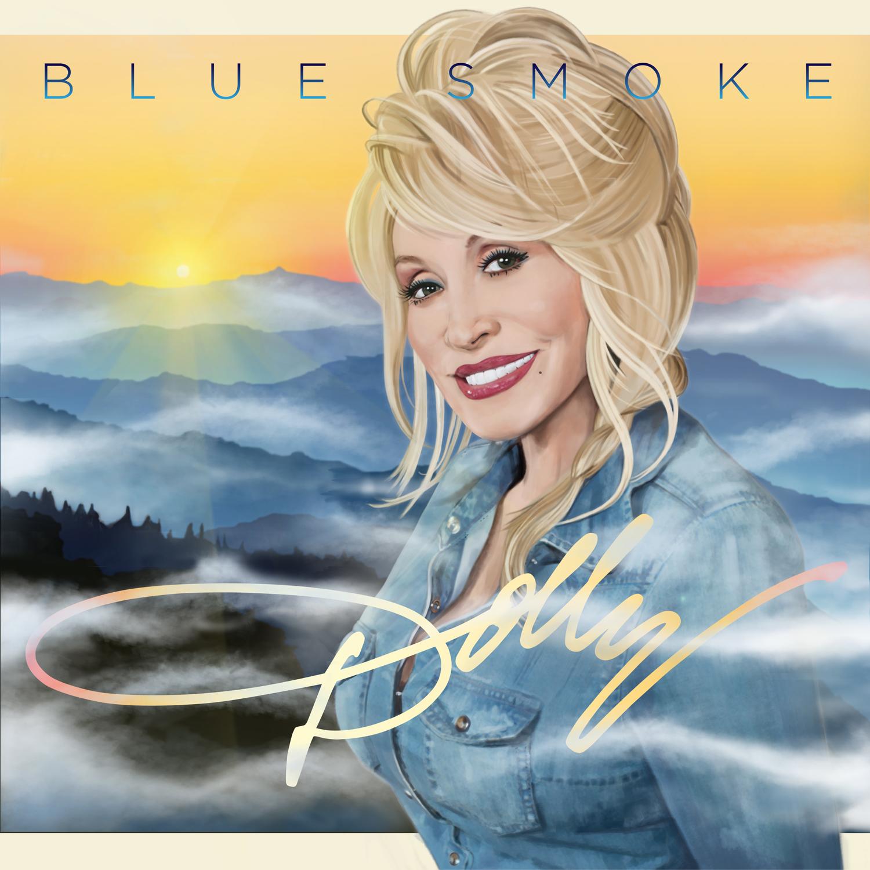 DollyParton Blue Smoke cvr lrg