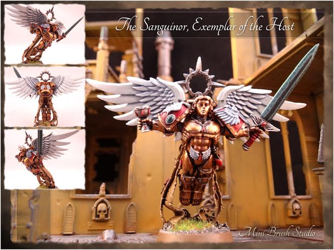 Blood Angels Space Marines The Sanguinor Exemplar of the Host