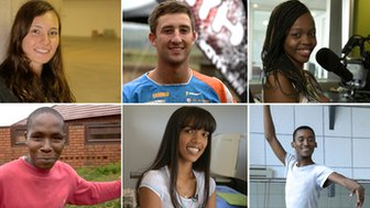 Six South Africans from the 'born free' generation