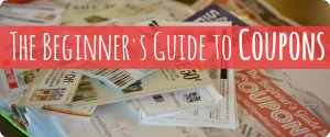 The Beginner's Guide to Coupons 300x125