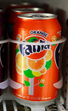FILE - This May 22, 2010 file photo shows a can of Fanta orange soda at The Corner Market in Washington. Coca-Cola on Monday, May 5, 2014 said it will drop brominated vegetable oil from all its drinks that contain it, not just Powerade. The Atlanta-based company says the controversial ingredient is still being used in some flavors of Fanta and Fresca, as well as several citrus-flavored fountain drinks. Photo: Jacquelyn Martin, AP / AP