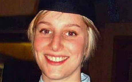 Joanna Yeates at her graduation in November 2010 in Bristol, England: Joanna Yeates murder: police seize plans of house