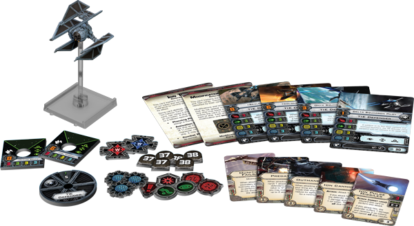 Tie Defender X-Wing Miniatures Expansion