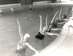 aquafit class at the YMCA