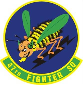 47 Fighter Squadron (AFRC) Emblem